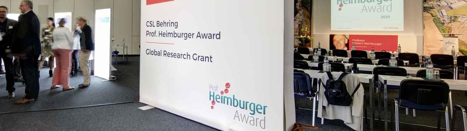 CSL Behring Heimburger Awards
